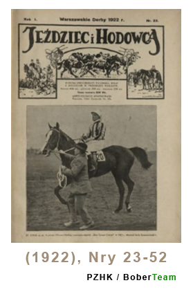 Jeździec i Hodowca, R. 1 (1922), Nry 23-52