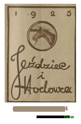 Jeździec i Hodowca, R. 4 (1925), Nry 1-23/24