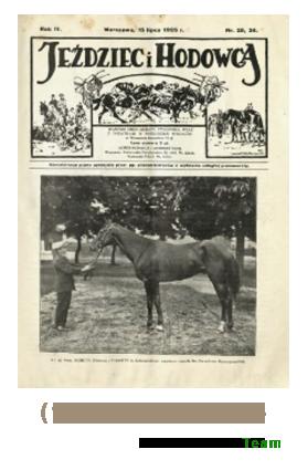 Jeździec i Hodowca, R. 4 (1925), Nry 25/26-47/48