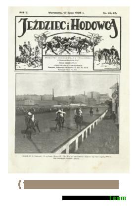 Jeździec i Hodowca, R. 5 (1926), Nry 26/27-49/50