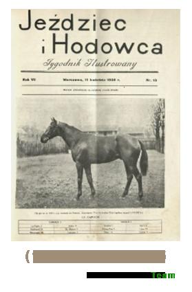 Jeździec i Hodowca, R. 7 (1928), Nry 15-26