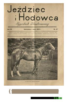 Jeździec i Hodowca, R. 7 (1928), Nry 27-39