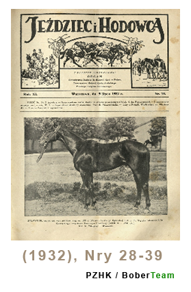 Jeździec i Hodowca, R. 11 (1932), Nry 28-39