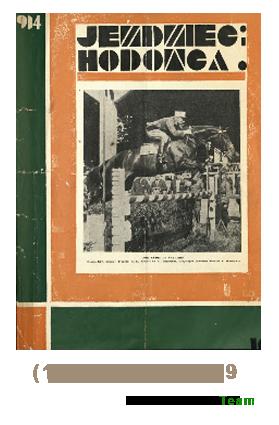 Jeździec i Hodowca, R. 13 (1934), Nry 19-26