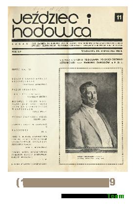 Jeździec i Hodowca, R. 14 (1935), Nry 11-19